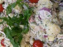 Wiejska sałatka kartoflana