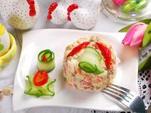 Prosta dekoracja potraw na święta