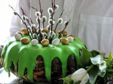 Wielkanocna baba ze szpinakiem i cytryną