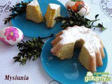 Wielkanocna babka cytrynowa 2