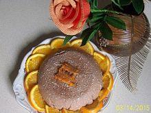 Wielkanocna pascha czekoladowo-pomarańczowa