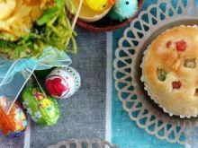 Wielkanocne babeczki do koszyczka