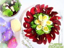 Wielkanocne carpaccio z buraków