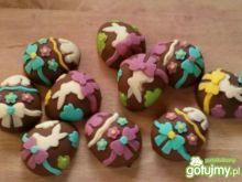 Wielkanocne czekoladowe pralinki
