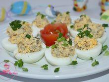 Wielkanocne jaja faszerowane makrelą