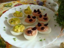 Wielkanocne jajko dwkolorowe