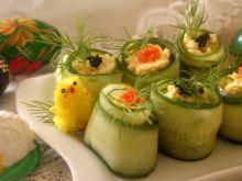 Wielkanocne ruloniki z jajecznym wnętrzem