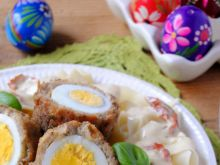 Wielkanocny obiad –makaronowe gniazda