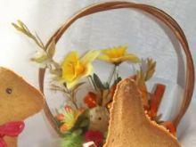 Wielkanocny zając lub baranek