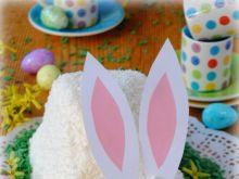 Wielkanocny zajączek-serniczek na zimno