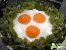 "Wielkanocy tort z ""jajkami"" ;)"