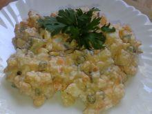 Wieloskładnikowa sałatka z majonezem