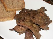 Wieprzowa wątróbka wg Zub3ra
