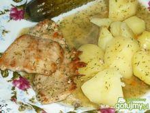 Wieprzowe bitki w sosie koperkowym