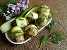 Wieprzowe kotleciki w roladkach z cukinii
