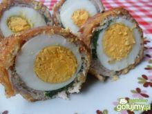 Wieprzowe roladki z jajkiem