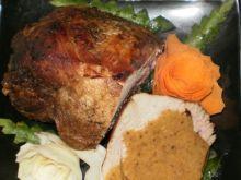 Wieprzowina w sosie śliwkowo-cebulowym
