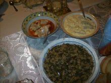 Wigilijna sałatka pieczarkowo-makaronowa