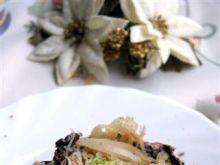 Wigilijna smażona kapusta z grzybami