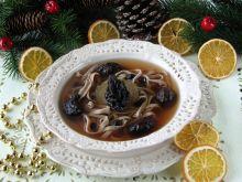 Wigilijna zupa z owoców suszonych