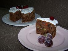 Wilgotne ciasto bakaliowe