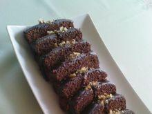 Wilgotne ciasto z polewą czekoladową