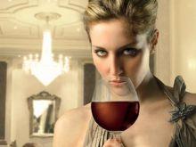 Wina elegancko podane