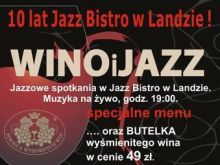 Wino i dobra kuchnia w Jazz Bistro