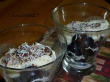 Winogrona pod waniliowo-czekolad chmurką