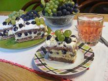Winogronowa kremówka