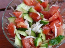Wiosenna sałatka grillowa