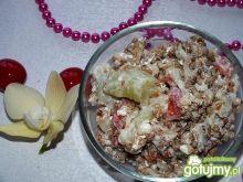 Wiosenna sałatka z kaszą gryczaną