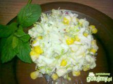 Wiosenna sałatka z nowalijkami