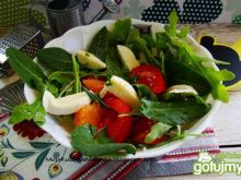 Wiosenna sałatka z szczawiem