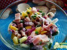 Wiosenna sałatka z szynki