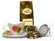 Wiosenna zielona herbata