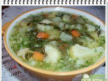 Wiosenna zupa jarzynowa Eli