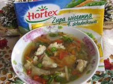 Wiosenna zupa z dorszem