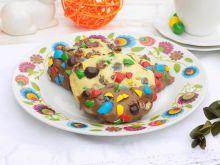 Wiosenne kolorowe ciasteczka