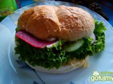 Wiosenny burger