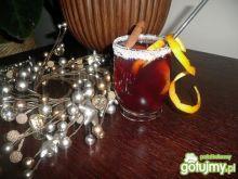Wiśniowy grzaniec na bazie herbaty