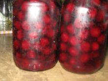 wiśniowy kompot