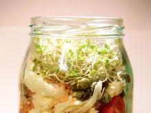 Włoska sałatka makaronowa ze słoika