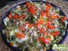 Włoska surówka z pestkami dyni