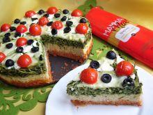 Włoski tort makaronowy