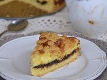 Włoskie ciasto z pieczonym mascarpone