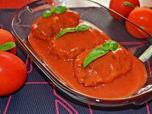 Włoskie kotlety w sosie pomidorowym
