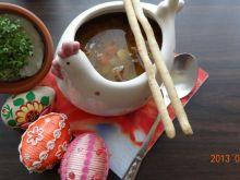 Wołowa zupa wielkanocna