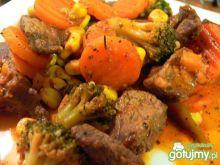 Wołowina z warzywami Bernadetty