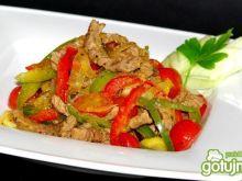 Wołowinka z warzywami